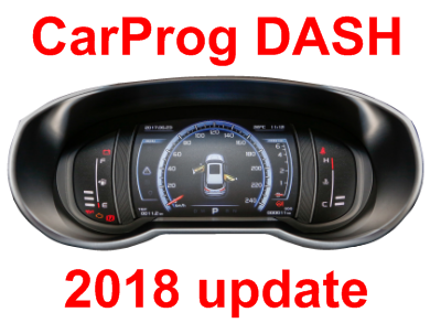 2018 dashboard software update using EEPROM/MCU connection