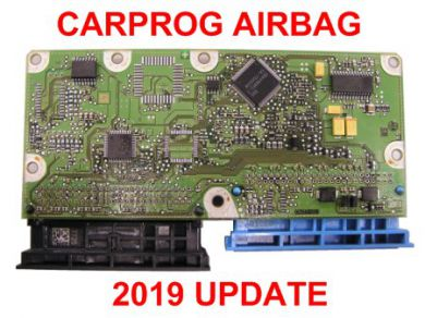 2019 CarProg Airbag software update
