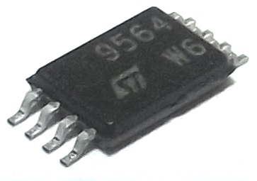M95640 - TSSOP8 serial EEPROM for automotive aplications