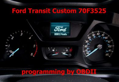 S7.58 - CarProg software for Ford 2017+ dashboard programming by OBDII