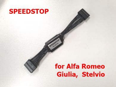 SPEEDSTOP - Plug and Play KM freezer for Alfa Romeo Giulia, Stelvio