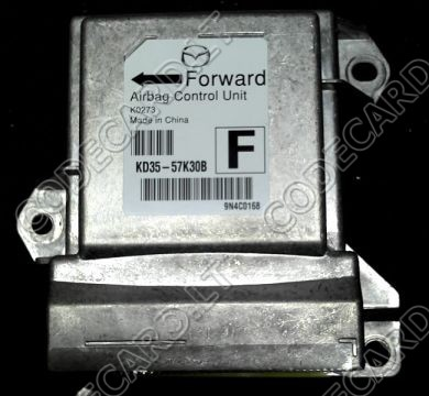 S5.40 - Programming by OBDII for Mazda CX-5 and Ford 2013+ airbag sensor