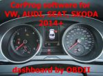 S7.55 -  CarProg software for  2014.06+ VW, Audi, Seat and Skoda dashboard programming by OBDII