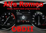 S7.66 - Instrument speedometer programming by OBDII for Alfa Romeo Giulia, Stelvio