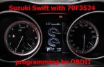 S7.62 CarProg software for Suzuki Swift 70F3524 70F3523 instrument programming by OBDII