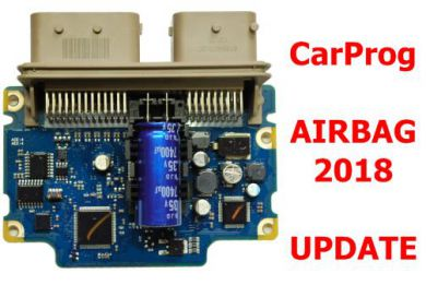 2018 CarProg Airbag software update