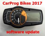 S7.56  Bikes 2017 update for CarProg - motorcycles instrument clusters odometer repair.
