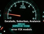 CAN simulator module for 2007-2013 General Motors SUV Suspension Warning Light repair
